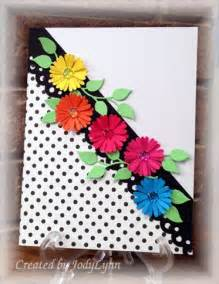 Craft Paper Cards - 25 best ideas about flower cards on handmade