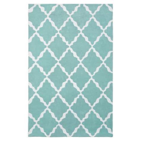 pbteen rug lattice rug blue pbteen