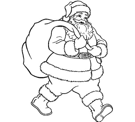 coloring pages christmas online free free santa claus pictures to color
