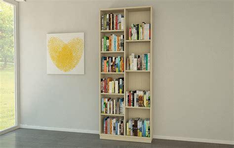bücherregal weiss schmal b 252 cherregal ahorn bestseller shop f 252 r m 246 bel und