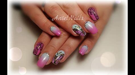 video tutorial 95 nail art ombr verde smeraldo e bianca con effetto nail art sfumata mh71 187 regardsdefemmes