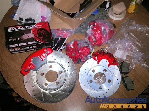 power stop performance brake kit  calipers  shipping