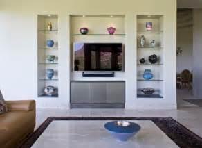 Modern custom home entertainment center modern living room