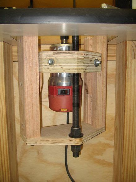 shopnotes  router lift woodworking   router