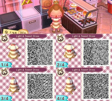 deviantart more like animal crossing new leaf qr anna from animal crossing new leaf light and sweet dress by