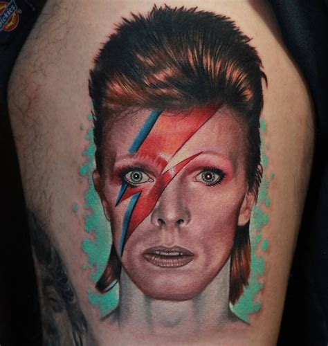 aladdin sane tattoo david bowie s sane character best design