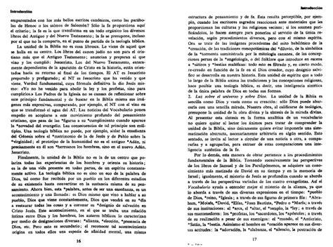 leon dufour xavier vocabulario de teologia biblica leon dufour xavier vocabulario de teologia biblica
