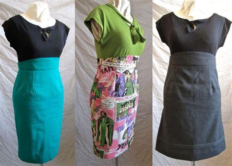 gertie s pencil skirt three ways bea