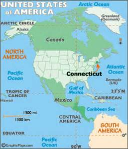 connecticut map geography of connecticut map of