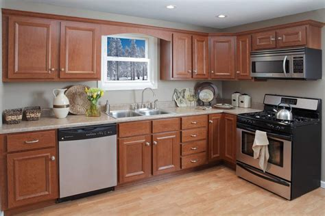 kountry kitchen cabinets nappanee in princeton cider cherry kountry cabinets