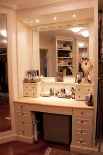 Bathroom Makeup Vanity Ideas by Master Walk In Closet Make Up Table Closet Pinterest