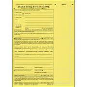 Alcohol testing form non dot format