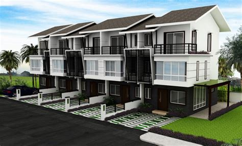 design of residential house modern town modern residential model homes designs