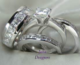 wedding ring set his and hers his and hers wedding ring sets wedding rings for