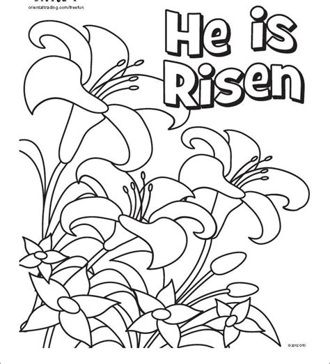 coloring page craft easter pinterest