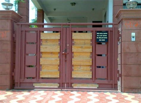 metallic main gates designer main gate manufacturer