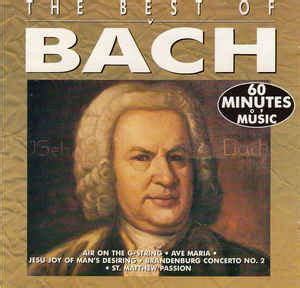 the best of bach bach the best of bach cd at discogs