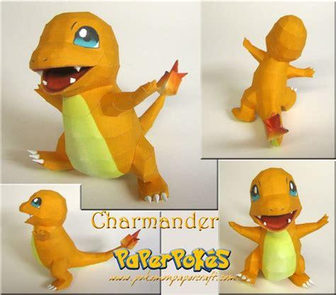 Charmander Papercraft - charmander papercraft pepakura