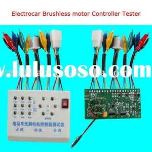 Electric Car Brushless Motor Controller Tester Manual Brushless Motor Controller Bike Brushless Motor
