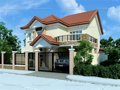 Modern House Designs And Floor Plans Philippines modern house design 2012005 pinoy eplans