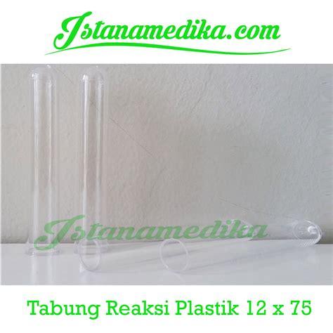 tabung reaksi plastik 12 x 75 istana medika