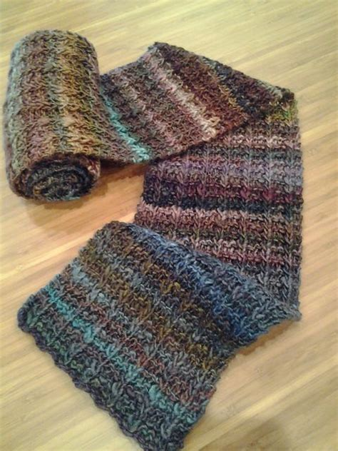 one row scarf pattern yarn harlot yarn off with their heads pattern one row handspun