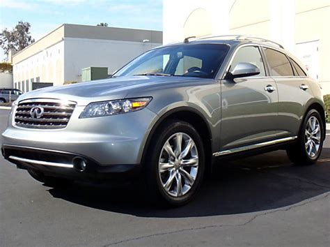 how to learn about cars 2006 infiniti fx user handbook 2006 infiniti fx45 information and photos momentcar