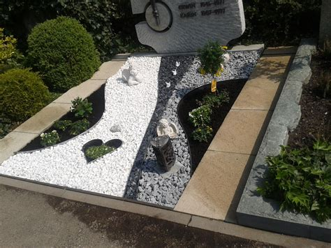 Moderne Grabgestaltung Mit Kies 3588 by Grab Gestalten Garden Grabgestaltung
