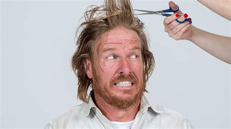 chip gaines fixer upper s chip gaines shaves off long hair for a