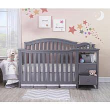 Gray Convertible Crib With Changing Table 25 Best Ideas About Crib With Changing Table On