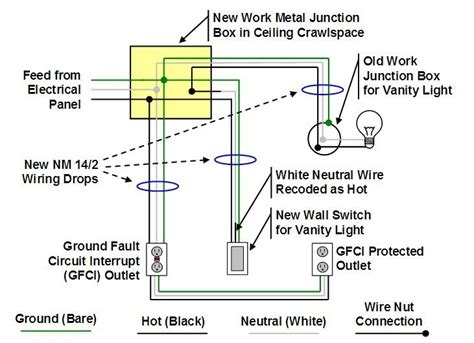 electrical junction box wiring diagram wiring diagram