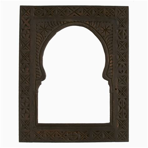 Putting It Together Moroccan by Cedar Moroccan Keyhole Arch Frame