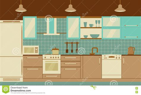 kitchen front design kitchen interior flat design with home furniture and