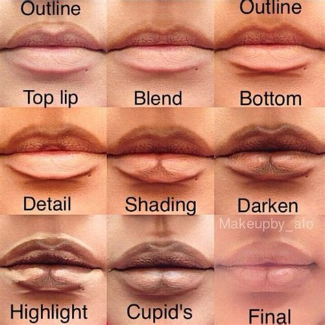 lip tattoo to make lips bigger how to make your lips look fuller and bigger contours
