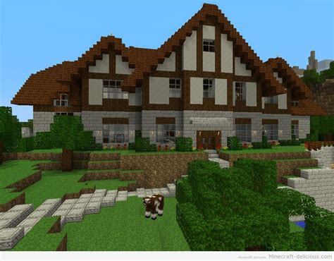 awesome big minecraft houses minecraft big house 1