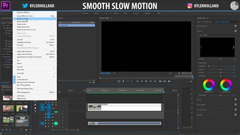 adobe premiere pro slow motion perfect premiere pro slow motion tutorial videoguys blog