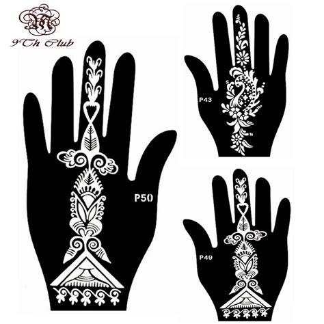 henna tattoo hand easy vorlagen compare prices on airbrush tattoo stencil online shopping