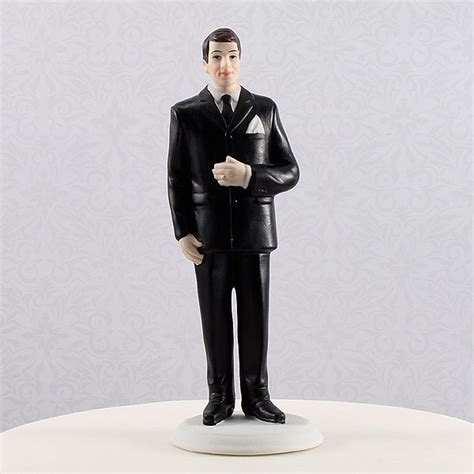 Big And Tall Groom Figcake Topper