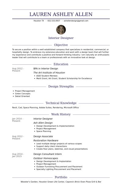 resume objective exles interior designer interior designer resume sles visualcv resume sles database