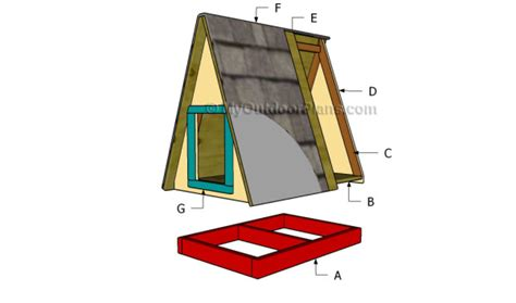 a frame dog house a frame dog house plans myoutdoorplans free woodworking plans and projects diy
