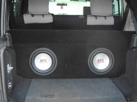 Jeep Jk Subwoofer Box My Project Jk Custom Dual 10 Quot Sub Box Powered By