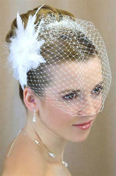wedding updos with birdcage veil 23 perfect short hairstyles for weddings bride hairstyle