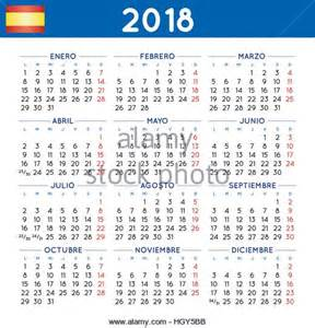 Calendar 2018 Photos 2018 Calendar Stock Photos 2018 Calendar Stock Images