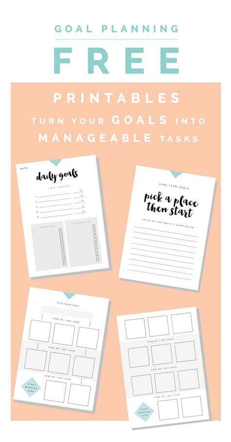 free printable goal planner 2015 how to pick the perfect planner one goals free printables