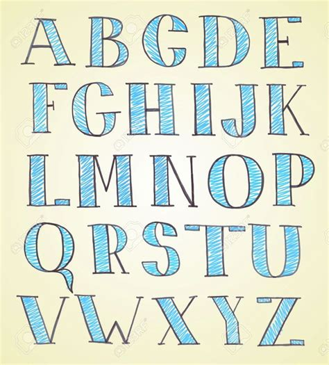 doodle combinations alphabetical order 17 best images about lettering alphabets on