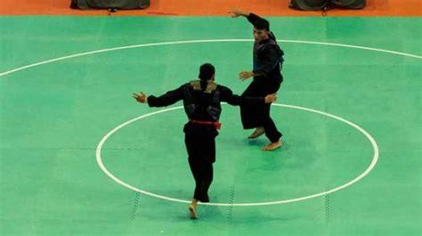 Sabuk Silat Sabuk Ipsi Untuk Pertandingan dua pesilat jatim masuk pelatnas asian dan kejuaraan dunia olahraga