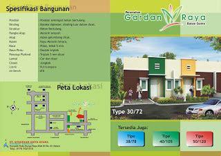 fee desain brosur marketing freeland perumahan