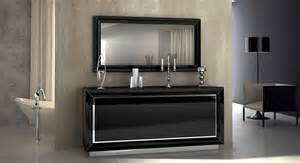 High Gloss Sideboard Black La Star Contemporary Amp Modern Italian Furniture In High