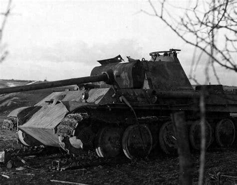 Lu Aquarium Model Jepit panther ausf g luxembourg february 1945 world war photos