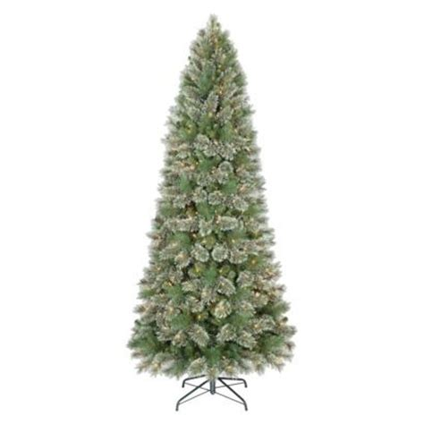 7 5 pre lit slim virginia pine christmas tree clear